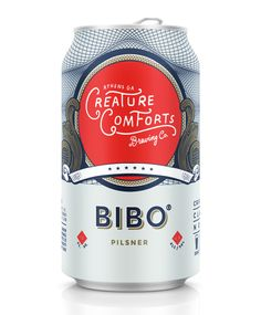 Creature Comforts Bibo Can Beer Company, Brewing Company, Juice Packaging, Bottle Packaging, Premium Beer, Packaging Design, Brand Packaging, Label Design, Branding Design