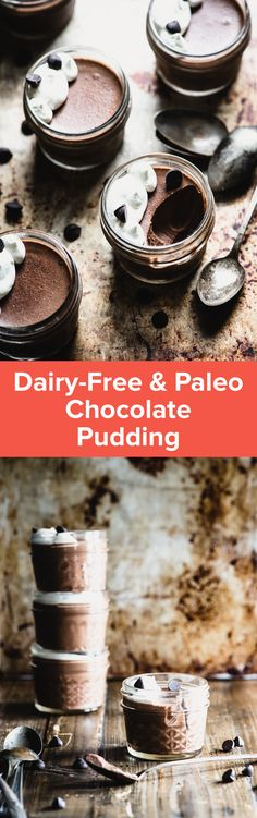 Paleo Chocolate Pudding (Dairy-Free) | StupidEasyPaleo.com Maybe I can make this with almond milk instead of coconut milk?