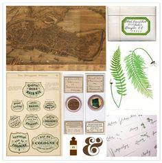 Botanical scrapbooking