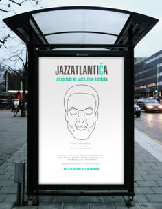 Mupi Jazzatlántica #design #creatividad #artdirection