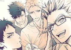 Is...is that bokuto with glases..#bless
