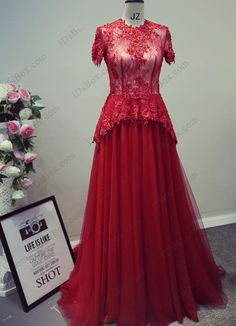 Red Prom Dresses Long and Shot
