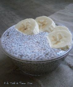 Vanilla Almond Milk Chia Pudding ~ gluten-free and lactose-free ~ - One of my favorite breakfasts is undoubtedly the chia pudding. Naturally gluten and lactose free, i - Chia Pudding, Keto Pudding, Malva Pudding, Avocado Pudding, Coconut Pudding, Pudding Vanille, Protein Pudding, Milk Protein, Sans Lactose