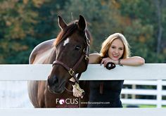 Senior Portraits with Horses