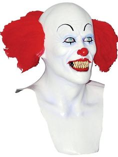 Pennywise Killer Clown Mask