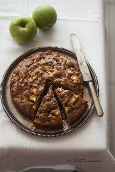 Torta di mele e farina disegale