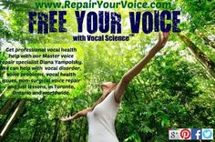 For info on vocal disorders, diagnosis and vocal damage symptoms visit our sister site: http://www.repairyourovice.com Call us for a free phone consultation! 416-857-8741