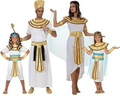 Familia de Egipcios #disfraces #carnaval #disfracesparagrupos