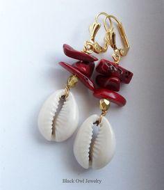 Chango & Oshun earrings  at my WePay shop:  https://www.wepay.com/stores/blackowljewelry