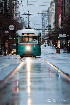 San Francisco F Line PCC in DC Transit Scheme.