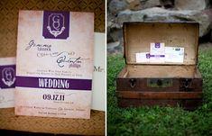 Harry Potter wedding invitations