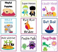 FREE kindergarten printable packs