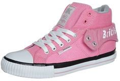 British Knights ROCO Hightop trainers pink on shopstyle.co.uk