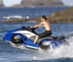 going to the lake house a bunch to ride jetskies