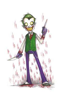 The Joker by Chris Uminga Comic Art