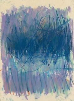 art-Walk — colin-vian:  Joan Mitchell (1925 - 1992) Untitled,...