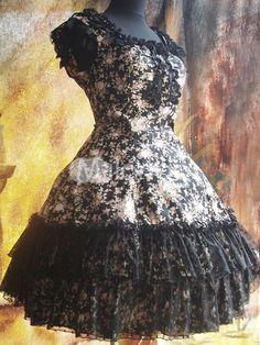 http://www.milanoo.com/Traditional-Black-Floral-Sleeveless-Ruffles-Cotton-Lolita-Dress-p150512.html