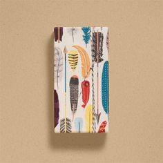 Right on point - Feathers Wrapping Paper gift wrap, paper sourc, packag, wrap paper, papers, feathers, feather wrap, design, wrapping