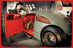 Visit The MACHINE Shop Café... ❤ Best of VW @ MACHINE ❤ (Volkswagon Beetle Pro Street)