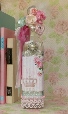 Decorated bottle ♥ — (479x800)