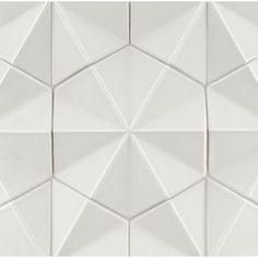 Ogassian Field Tile | ANN SACKS Tile & Stone | Spark | new white | powder room | $99 sq ft
