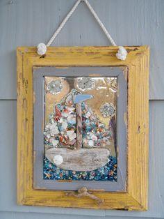 Driftwood Art Sailboat Art Sailboat Wall Decor by LookandSea