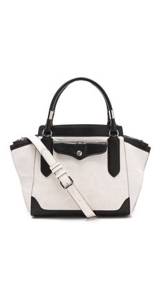 This Rebecca Minkoff satchel will be perfect to fit notebooks, ipad, etc.