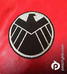 Avengers shield patch by Peachykiki on Etsy