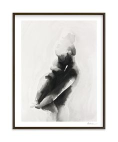 """mother embrace"" - Art Print by Kate Ahn in beautiful frame options and a variety of sizes. Minted"