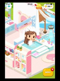 #LinePlay #App #Game #Muriomu La mia prima casetta. Bagno