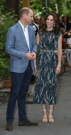 Kate Middleton Photos Photos - Prince William, Duke of Cambridge, and Catherine, Duchess of Cambridge, arrive at a reception at Claerchen's Ballhaus dance hall following a day in Heidelberg on the second day of the royal visit to Germany on July 20, 2017 in Berlin, Germany. The royal couple are on a three-day trip to Germany that includes visits to Berlin, Hamburg and Heidelberg. - The Duke and Duchess of Cambridge Visit Germany - Day 2