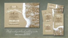 DESTINATION AND BEACH WEDDINGS | Wedding and Party Invitations