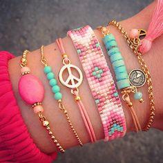 Heerlijk zomerse armbandjes nieuw online www.mint15.nl