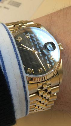 Rolex 18k Datejust 16018