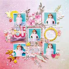 You Are My Sunshine by @paigeevans @pinkpaislee using Take Me Away collection #scrapbooking