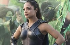 Tessa Thompson is making Marvel history. While answering questions about an LGBTQ+ storyline in Thor: Love and Thunder during San Diego Comic-Con on Saturday, Female Avengers, Female Thor, Kevin Feige, Tessa Thompson, Thompson Dreams, Marvel Women, Marvel Kids, Marvel Entertainment, Movies