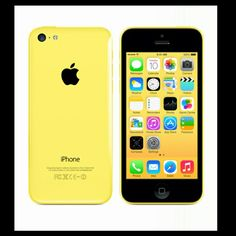 Iphone 5c in yellow