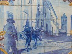 Azulejos da Velha Estação de Comboios de Estremoz