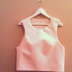 I used one hour to make my own designed tank top. Can\'t wait for spring!
