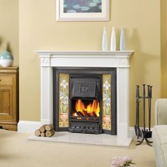 Stonemasons specialising in fireplaces, fires & stoves, bespoke granite & quartz worktops & memorial headstones. Wooden Fireplace Surround, Mantel Surround, Cast Iron Fireplace, Fireplace Inserts, Fireplace Surrounds, Victorian Tiles, Victorian Fireplace, Fireplace Stores, Chimney Breast
