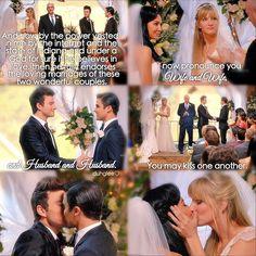 "#Glee 6x08 ""A Wedding"" - Santana, Brittany, Kurt and Blaine"