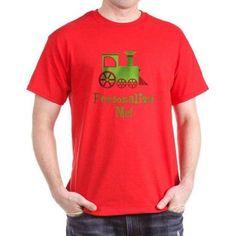 Cafepress Personalized Custom Train Dark T-Shirt, Size: 3XLarge (+$3.00), Red