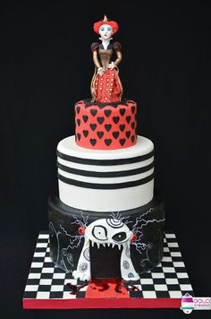 Amazing Tim Burton inspired cake creations from his movies and characters