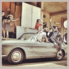 SHOOTING ANNI '60 #jamsession2punto0 #marquisandoge #anni60 #sun #rock #milano #chespettacolo #shooting #gioia