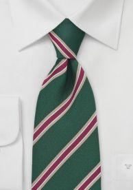 Cravate Parsley britannique vert or rouge