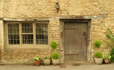 The Outside of Beth's Humble Abode in Castle Combe, England. 2013