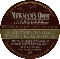 Always buy Newman's Own products when you have the chance. All profits go to charity...God bless Paul Newman! What a great man!!!!