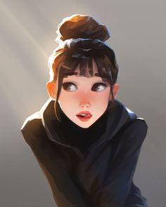Cute Art Styles, Cartoon Art Styles, Girly Drawings, Cartoon Drawings, Digital Art Girl, Samar, Girl Cartoon, Anime Art Girl, Art Reference