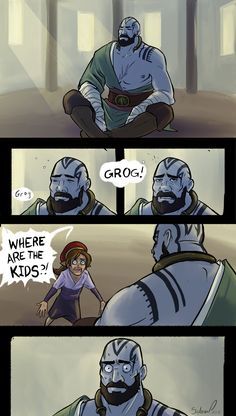 Vox Machina - In the Bag of Holding (Critical Role) Critical Role Comic, Critical Role Characters, Critical Role Fan Art, Dungeons And Dragons Memes, Dungeons And Dragons Homebrew, Character Concept, Character Art, Character Design, Dnd Funny