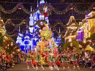 Most Amazing Christmas-Themed Amusement Parks: The Magic Kingdom